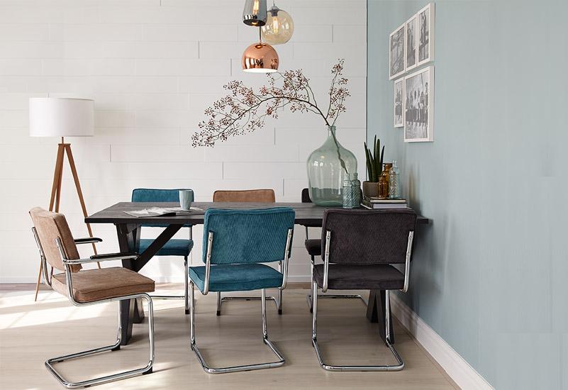 Blauwe Slaapkamer Lamp : De mooiste interieurs met blauwe muren alles om van je huis