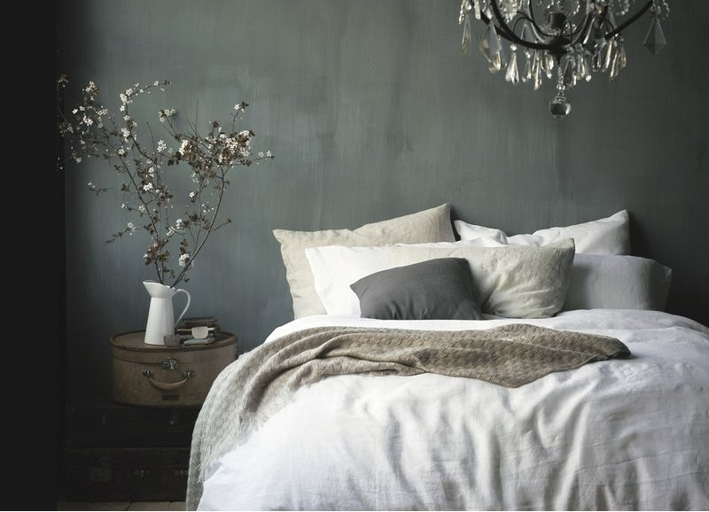 11 slaapkamers met een donkere muur - alles om van je huis je, Deco ideeën