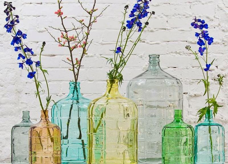 Planten Slaapkamer Baby : 21 glazen vazen & flessen om aan je ...