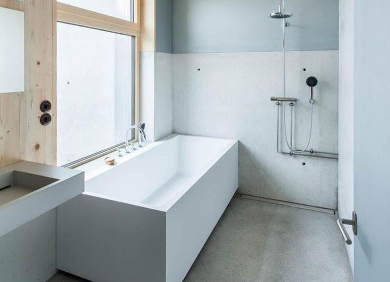 zeer badkamer scandinavische stijl ji41 belbininfo