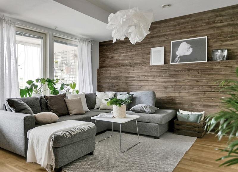 Binnenkijken In Scandinavisch Appartement Met Houten Muur Alles Om Van Je Huis Je Thuis Te Maken Homedeco Nl