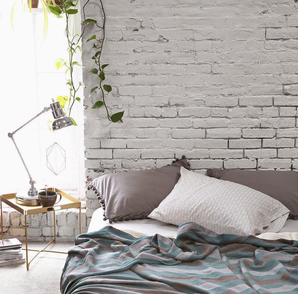 De mooiste interieurs met witte bakstenen muren alles om van je huis je thuis te maken - Bakstenen muur woonkamer ...