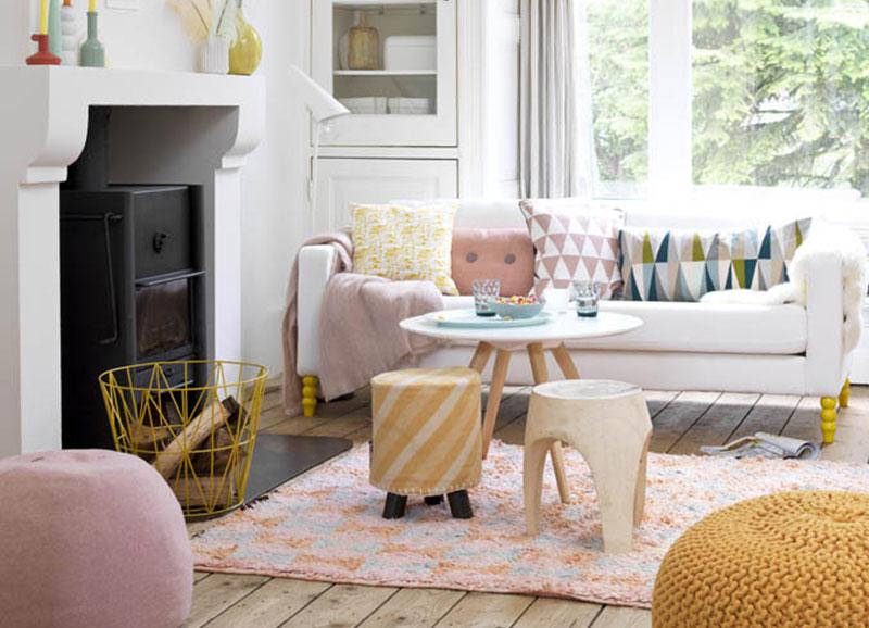 De mooiste pastelroze interieurs - Alles om van je huis je Thuis te ...