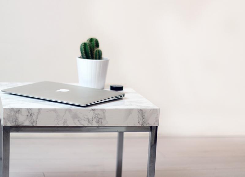 Genoeg DIY marmeren tafel - Alles om van je huis je Thuis te maken  BO96