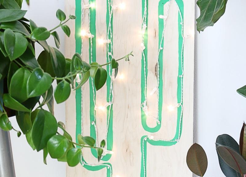Diy zo maak je deze cactus lamp zelf alles om van je huis je thuis te maken - Hoe je je woonkamer eetkamer kunt verbeteren ...