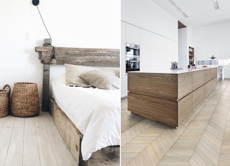 Zo combineer je je houten vloer met houten meubels alles om van