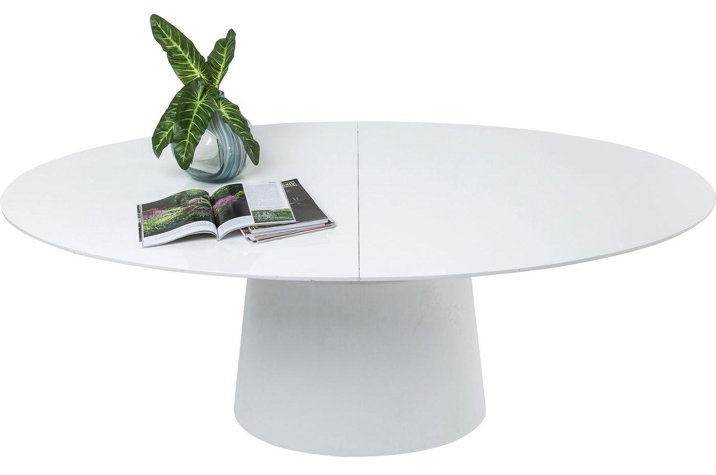 Interstil uitschuifbare eettafel montreux l180 220 x b90 x h75 cm