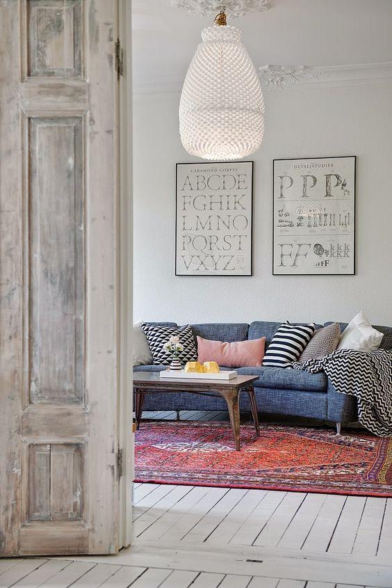 15 vloerkleden die kleur aan je huis geven - Alles om van je huis ...