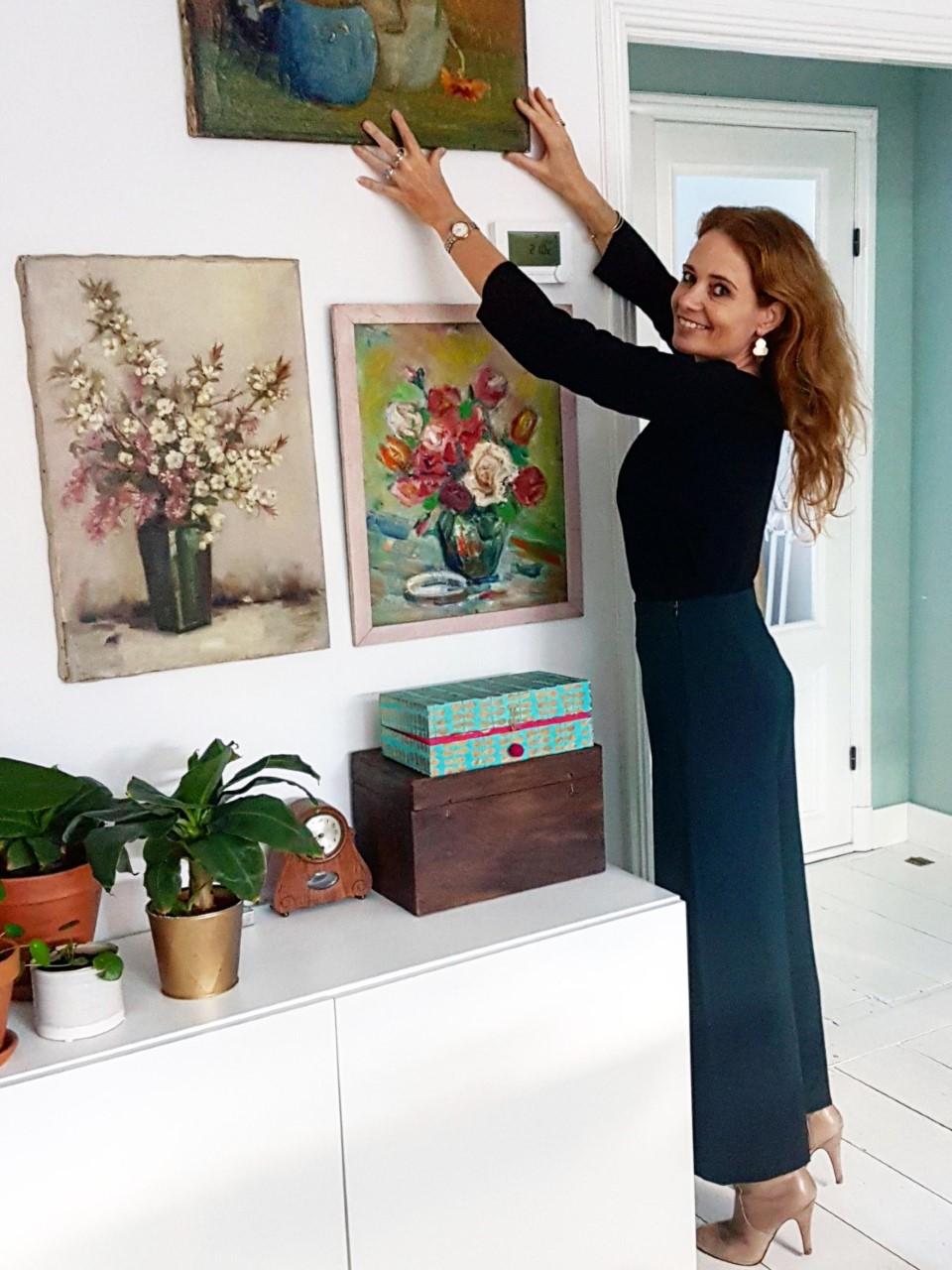martine in haar huis