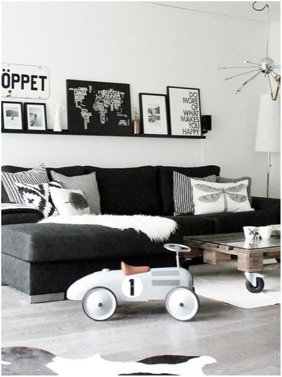 10x de mooiste zwart witte interieurs   alles om van je huis je ...