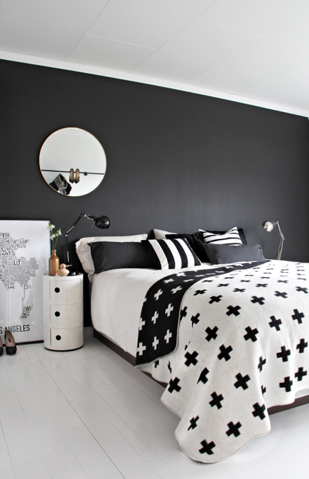 10x de mooiste zwart-witte interieurs - Alles om van je huis je ...