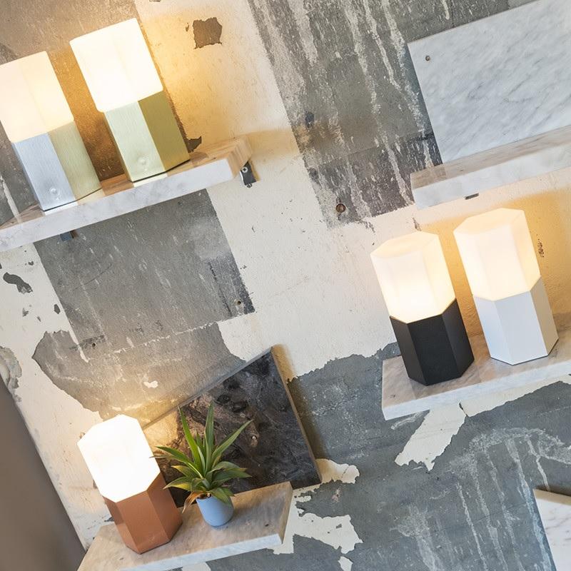 Win Scandinavisch Hexagon lampje