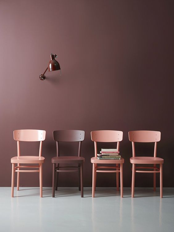 Bedwelming Color crush: Oud roze/bordeauxrood in je interieur - Alles om van &RH16