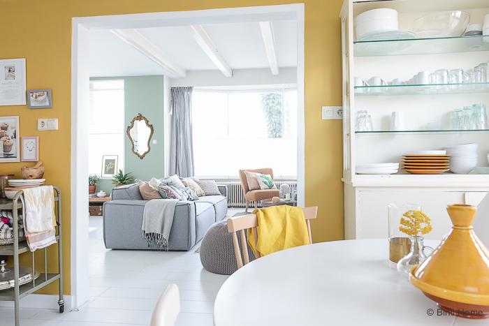 Yay or nay geel op de muur alles om van je huis je for Kleurenpalet interieur