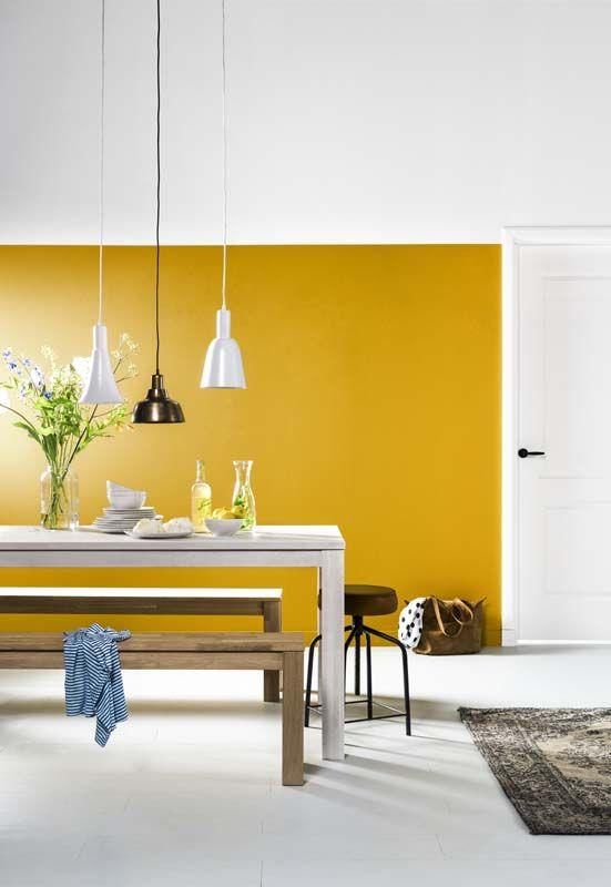 Yay or nay: Geel op de muur - Alles om van je huis je Thuis te maken ...