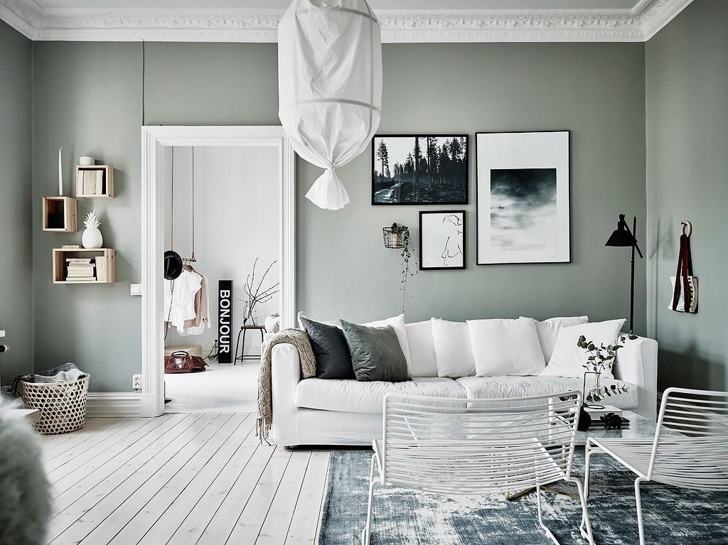 De mooiste interieurs met groene muren alles om van je huis
