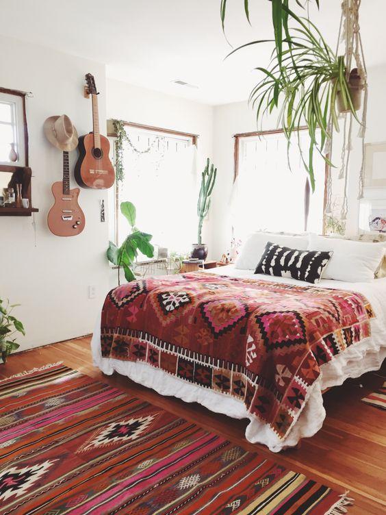 Onmisbare accessoires in een bohemian slaapkamer - Alles om van je ...