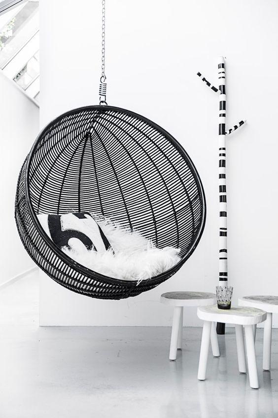 Hangstoel Wit Binnen.Trend De Hangstoel Alles Om Van Je Huis Je Thuis Te Maken
