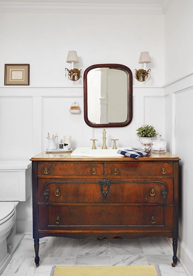 Inspiratie Vintage Kast In De Badkamer Alles Om Van Je