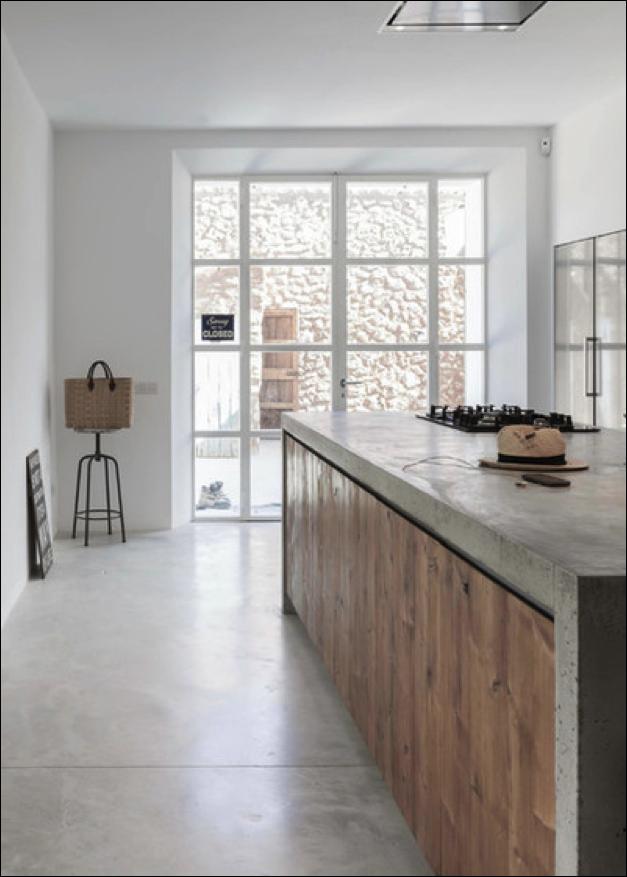 Super 10x de mooiste keukens met beton - Alles om van je huis je Thuis  #LW25