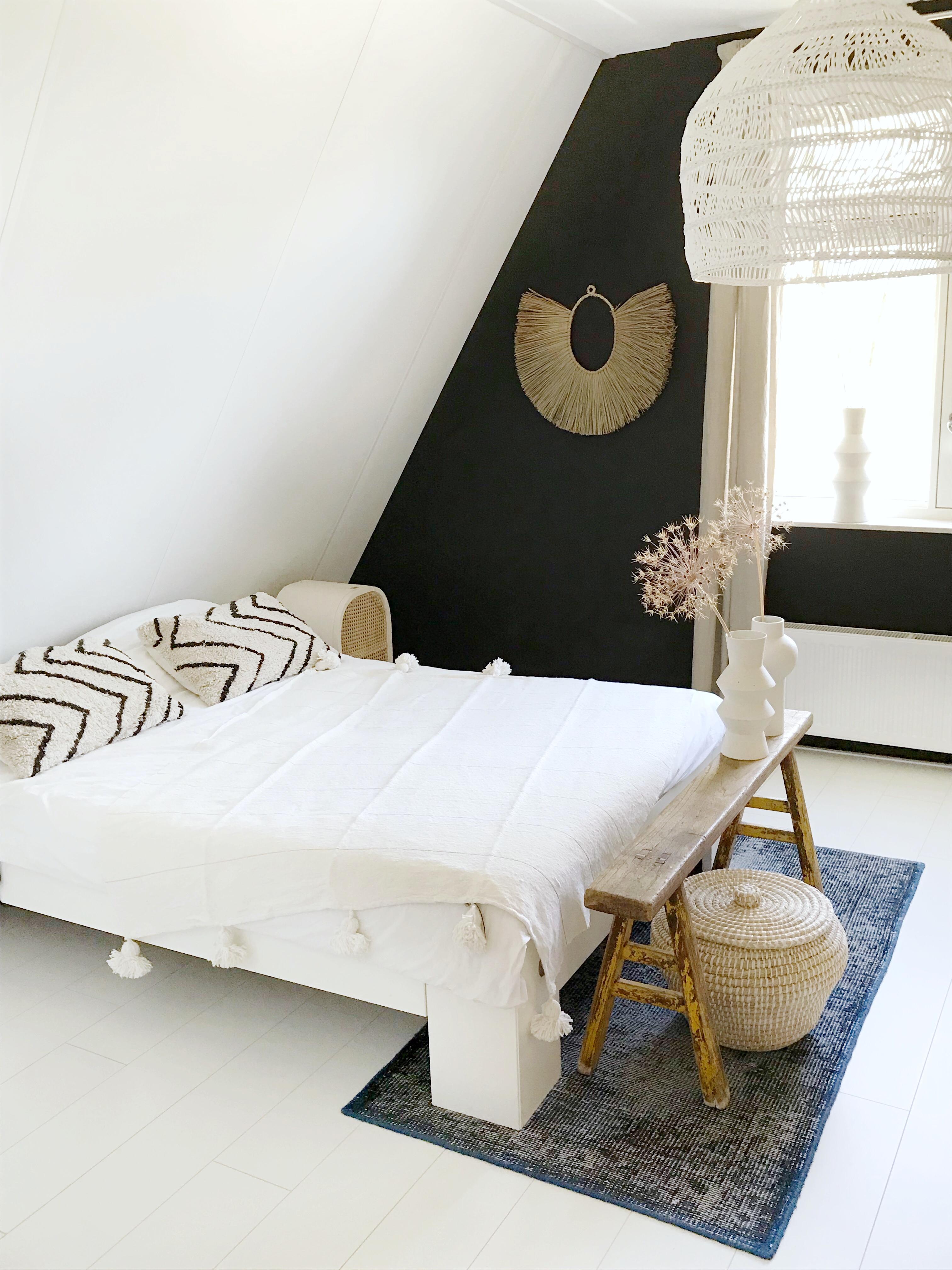 slaapkamer Villa Jip