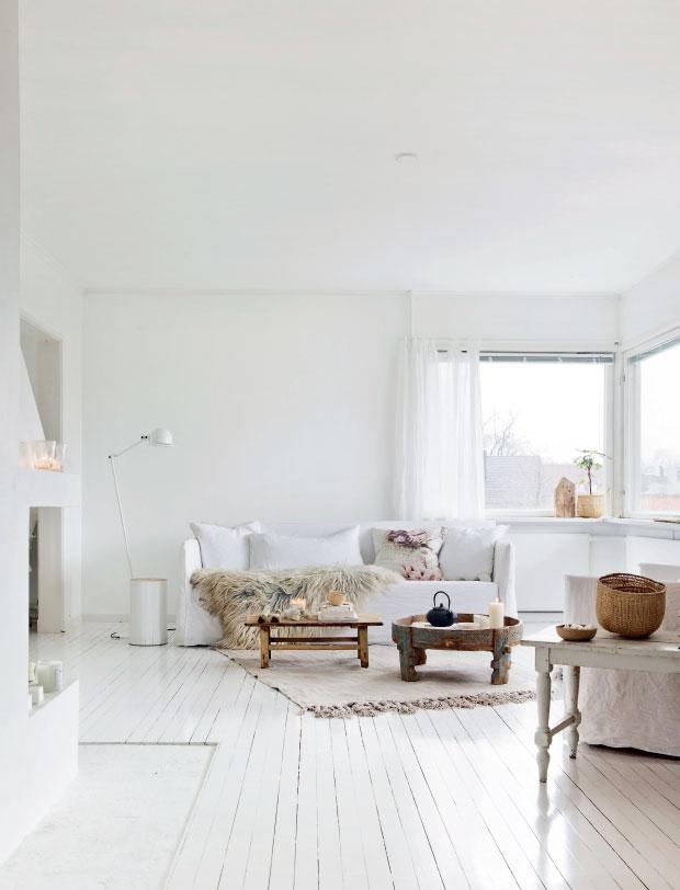 Binnenkijken in een all white Scandinavisch interieur - Alles om van ...