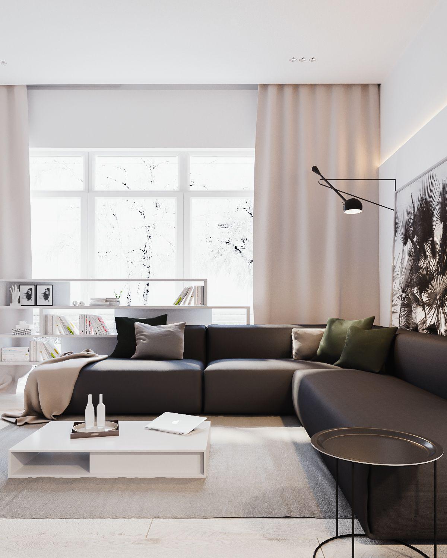 8x de mooiste moderne woonkamers - Alles om van je huis je Thuis te ...