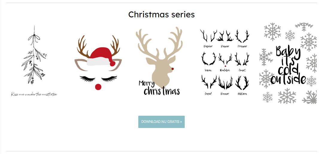 gratis kerst posters