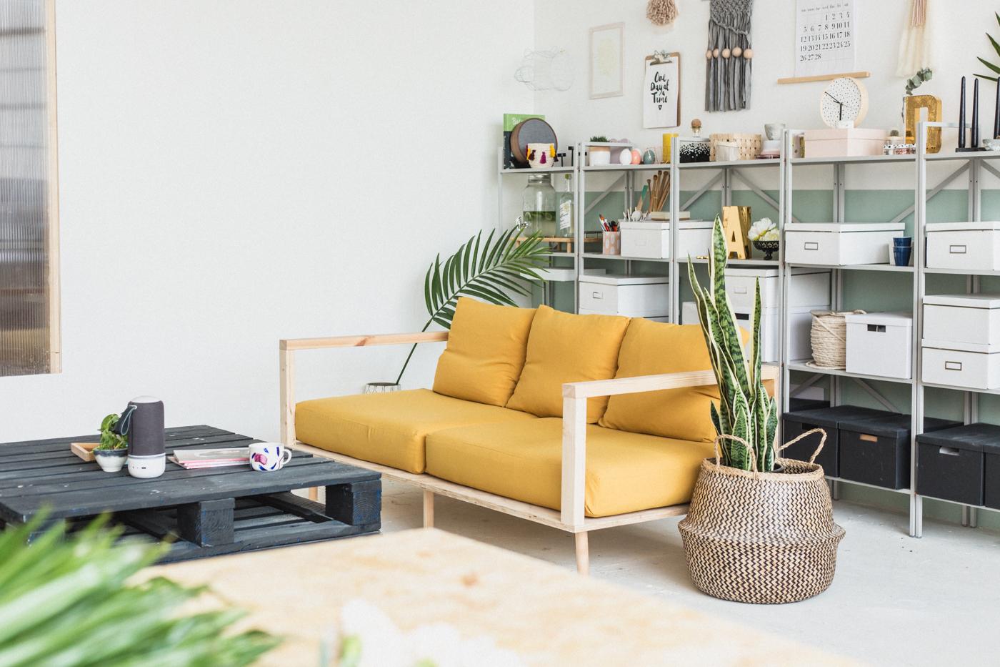 Diy: hippe houten sofa alles om van je huis je thuis te maken