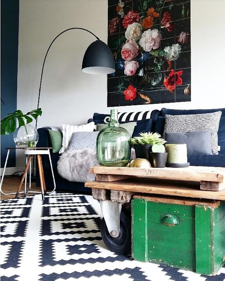 Shop the look: vintage Wohnzimmer - Alles was du brauchst um dein ...