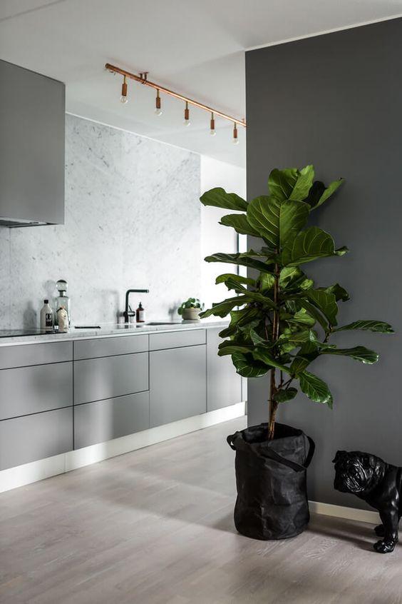 We love grijze keukens alles om van je huis je thuis te maken - Idee deco keuken grijs ...