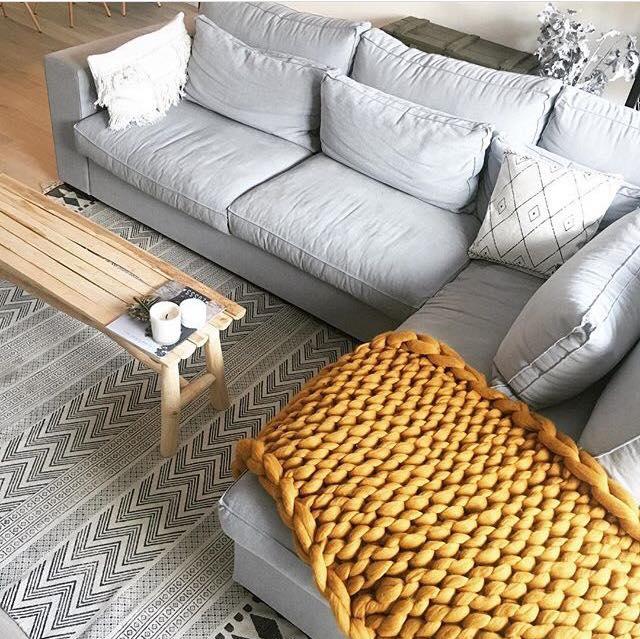 Color crush: gele accenten in je woonkamer - Alles om van je huis je ...