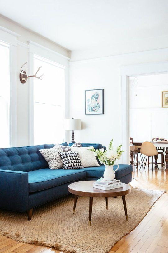 7x De Mooiste Blauwe Banken Van Pinterest Alles Om Van Je Huis Je Thuis Te Maken Homedeco Nl