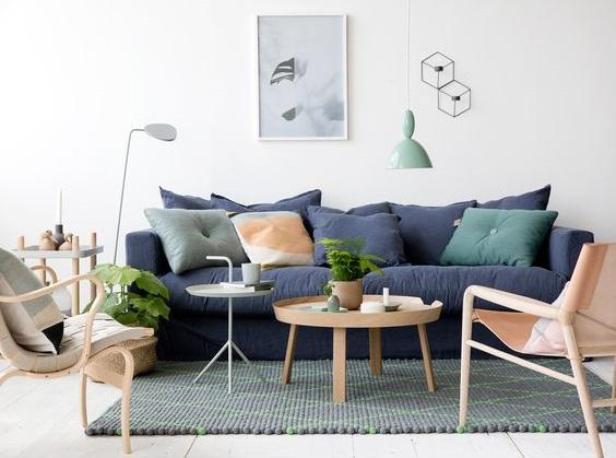 7x de mooiste blauwe banken van Pinterest - Alles om van je huis ...