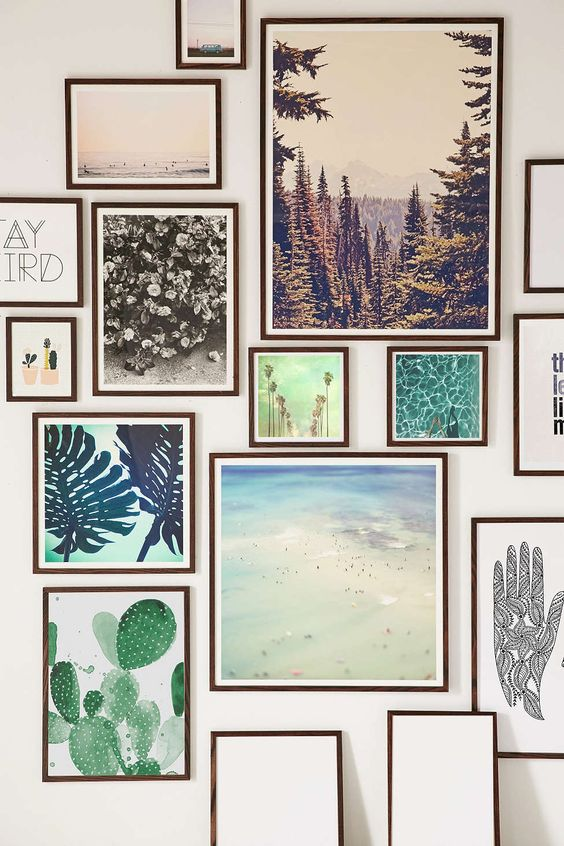 Zo maak je de perfecte fotowand alles om van je huis je for Pinterest fotowand