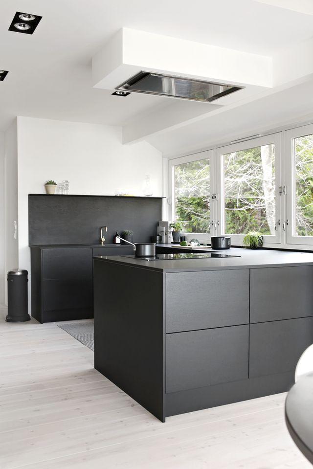 ja oder nein eine schwarze k che alles was du brauchst um dein haus in ein zuhause zu. Black Bedroom Furniture Sets. Home Design Ideas