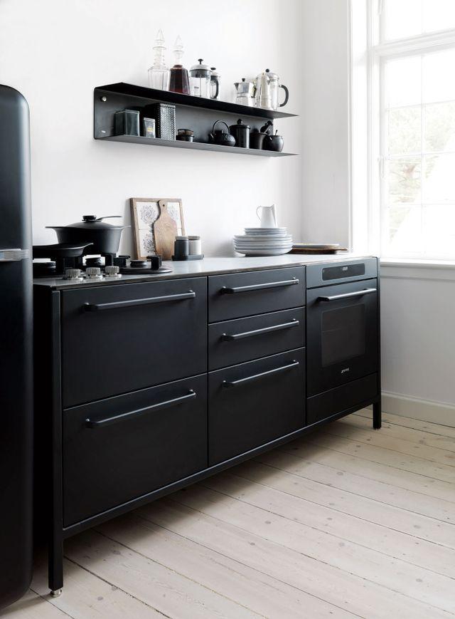 Yay or nay: een zwarte keuken   alles om van je huis je thuis te ...