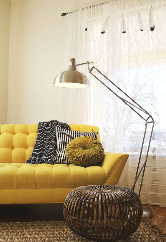 12 mooie oker gele banken voor een zonnig interieur for Interieur geel