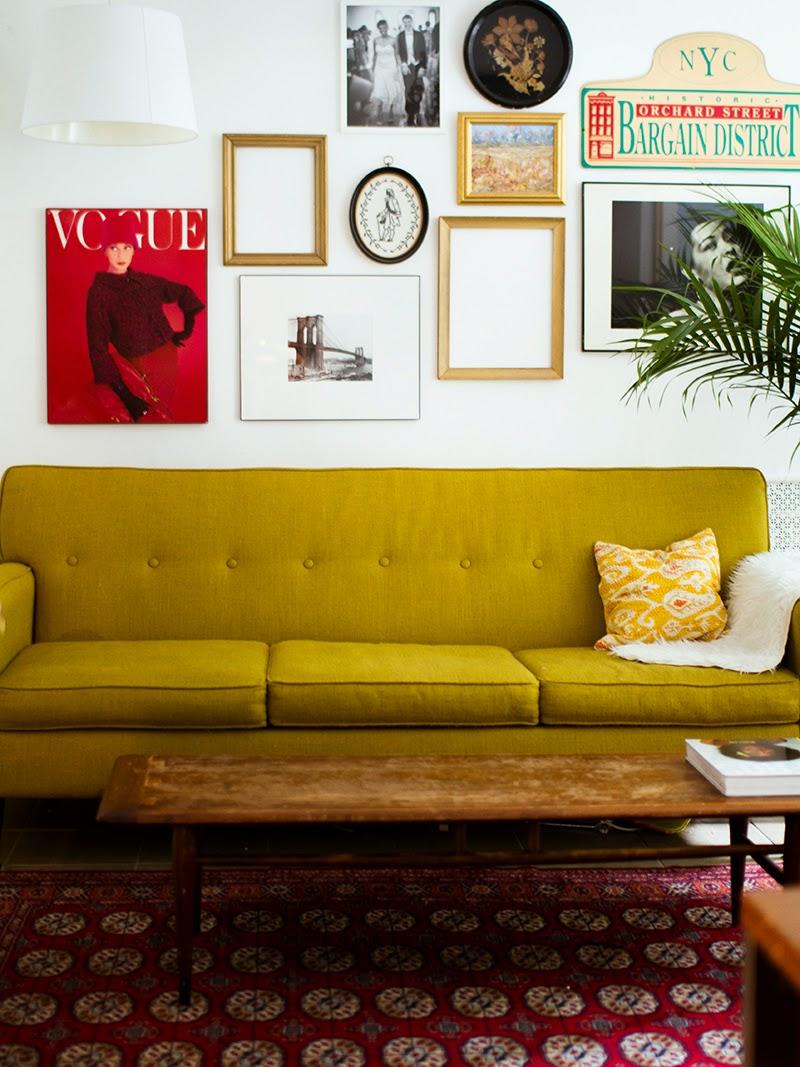 12 mooie (oker)gele banken voor een zonnig interieur - Alles om ...
