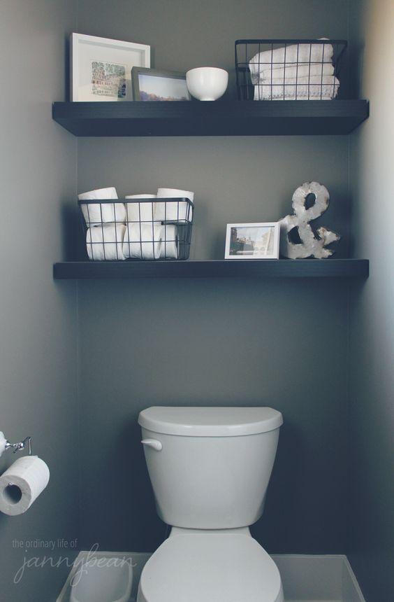 Zo pimp je het kleinste kamertje alles om van je huis je thuis te maken - Een wc decoreren ...