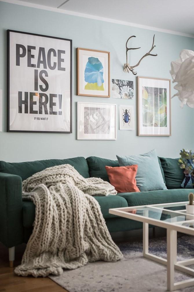 Binnenkijken in een fris, vrolijk en kleurig interieur - Alles om van ...