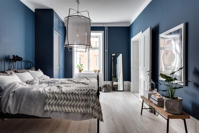 Inspiratie: de mooiste interieurs met donkerblauwe wanden - Alles om ...
