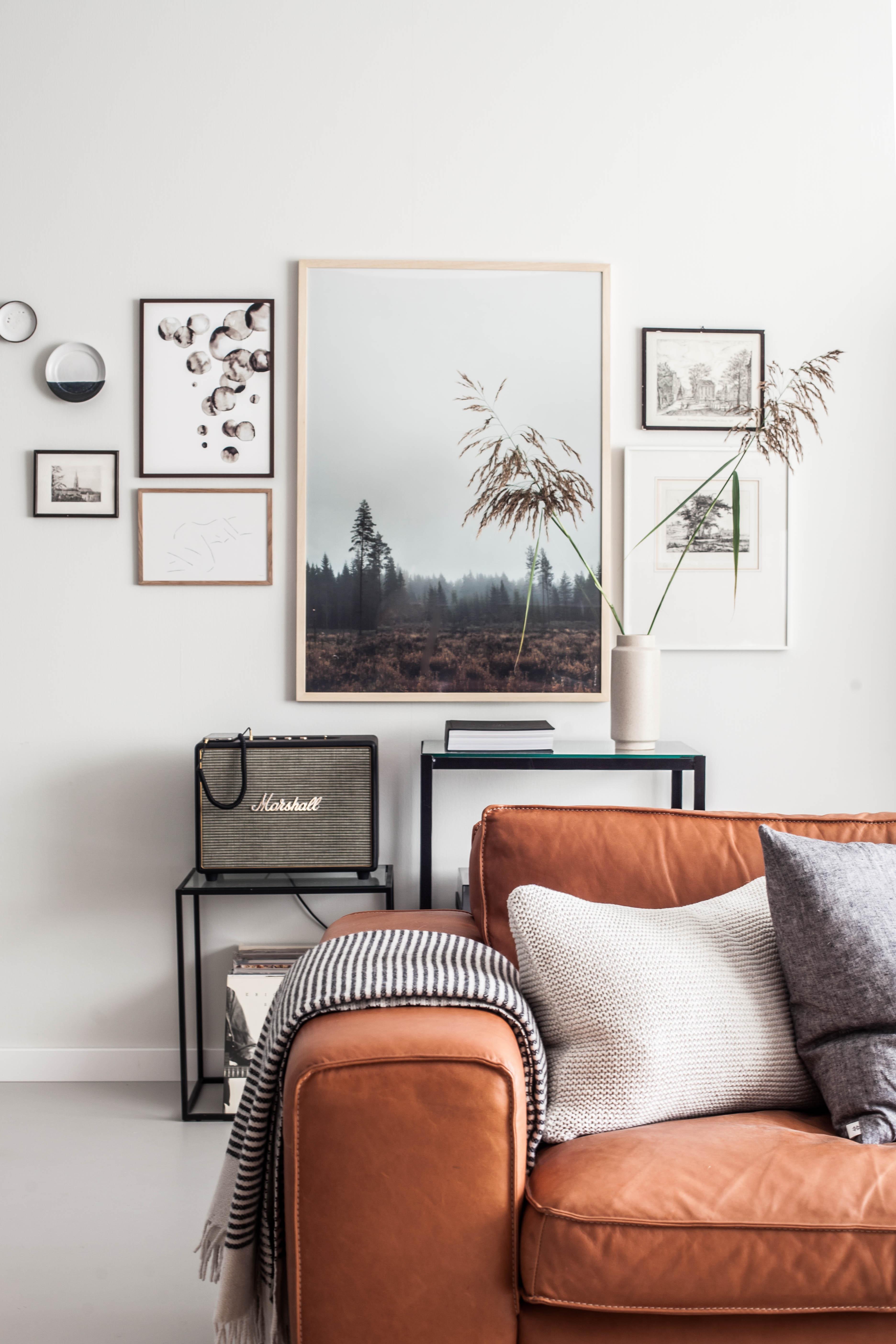 10 Manieren om een schilderij op te hangen 3