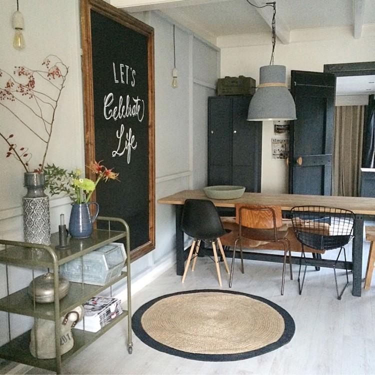 Shoppen in de stijl van jet alles om van je huis je thuis te maken - Tafel salle a manger ontwerp ...