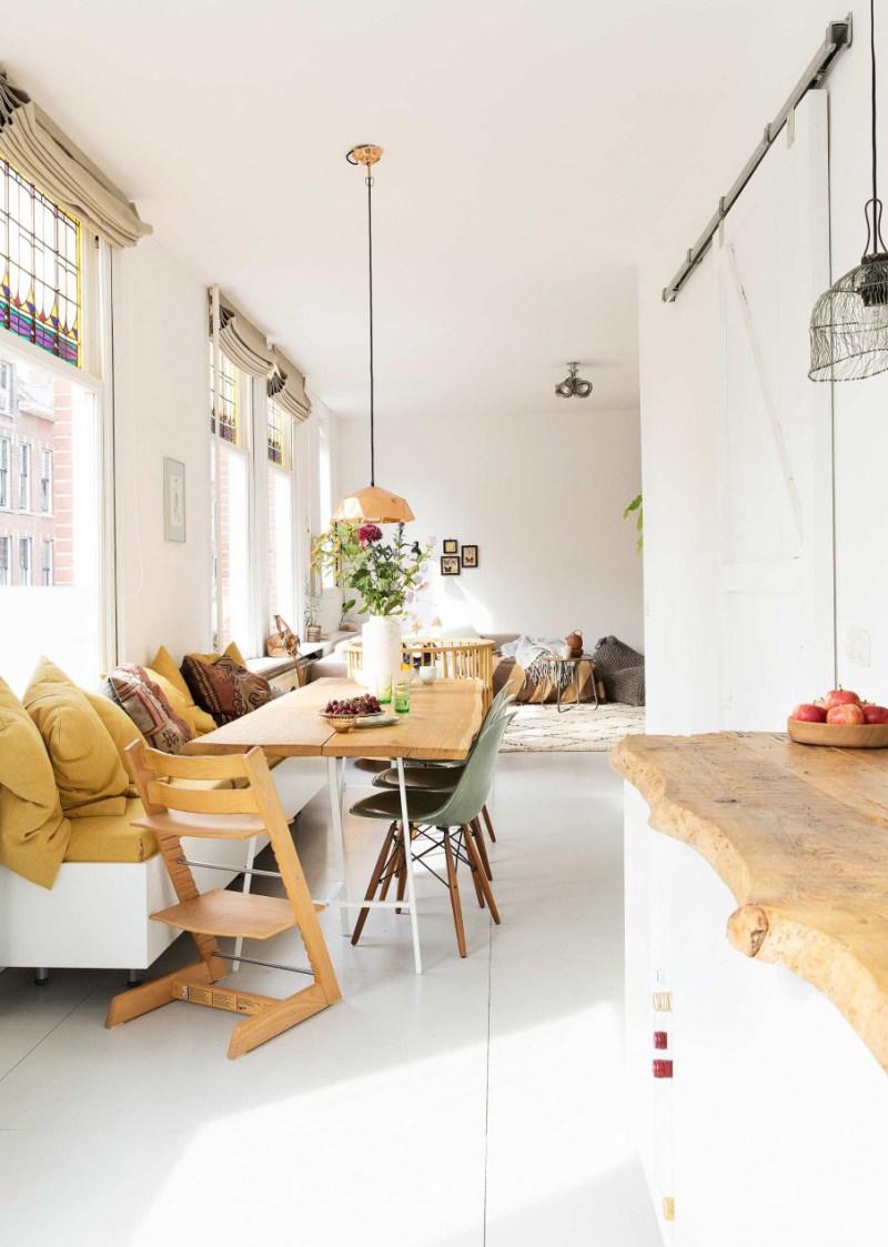 Color crush: okergeel met lichtgrijs - Alles om van je huis je Thuis ...