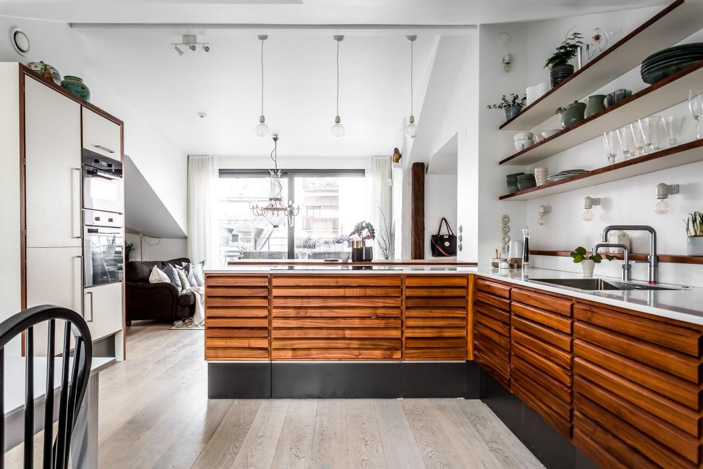 Vtwonen Keuken Houten : Keukens met een prachtig houten balkenconstructie roomed