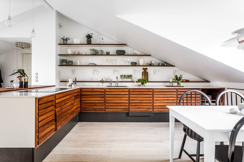 Houten Accessoires Keuken : Om bij weg te dromen deze grote houten keuken alles om van je