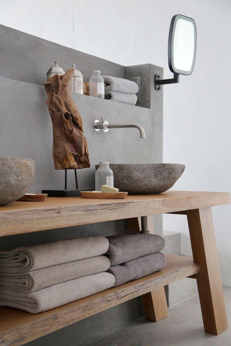 10x de mooiste badkamers met beton - Alles om van je huis je Thuis ...