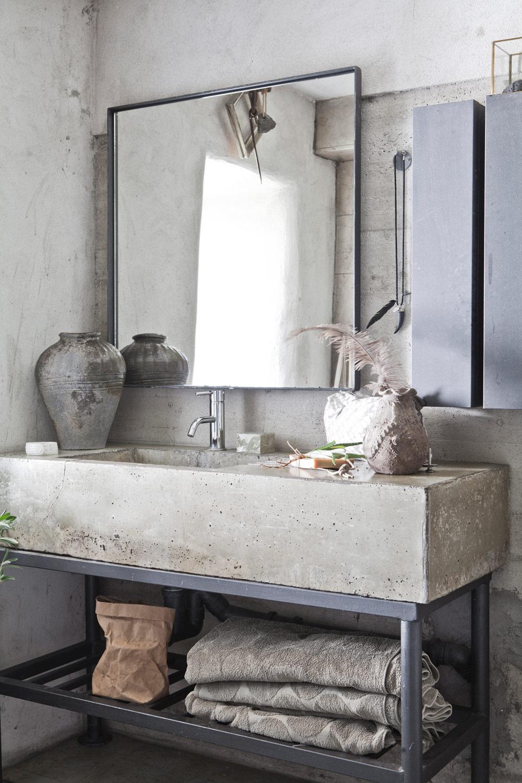 Keuken Badkamer Renovatie ~ 10x de mooiste badkamers met beton  Alles om van je huis je Thuis te