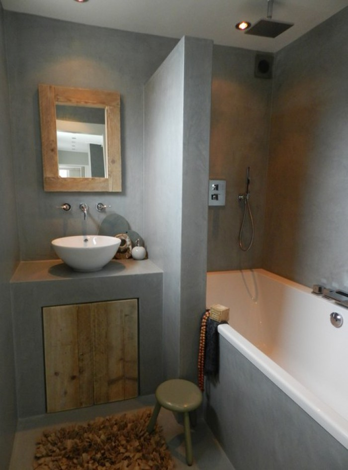 10x the most beautiful bathrooms with concrete for Most beautiful bathrooms